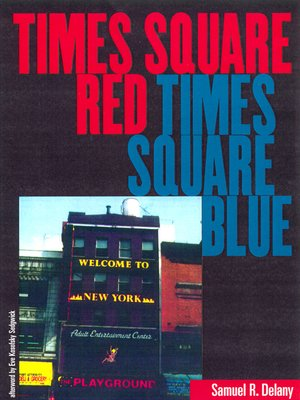 cover image of Times Square Red, Times Square Blue