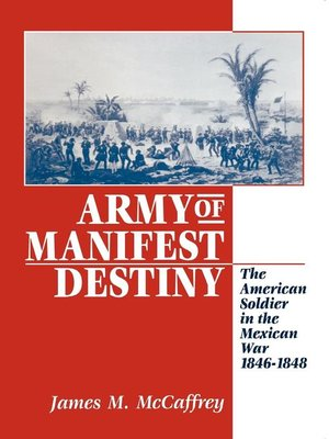 cover image of Army of Manifest Destiny