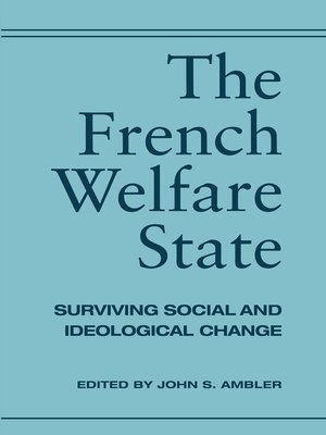 cover image of The French Welfare State