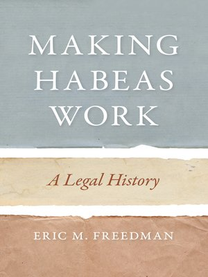 cover image of Making Habeas Work
