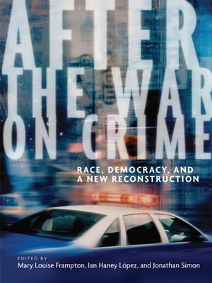 cover image of After the War on Crime