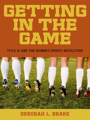 cover image of Getting in the Game
