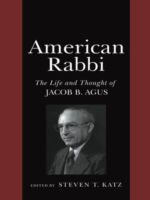 cover image of American Rabbi