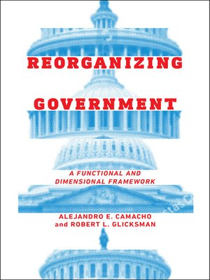 cover image of Reorganizing Government