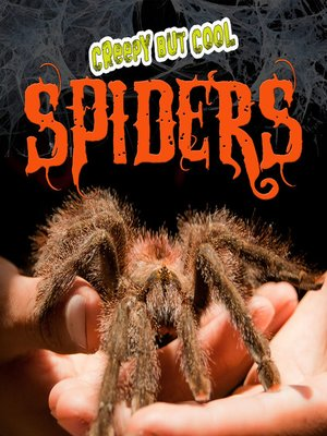 cover image of Creepy But Cool Spiders