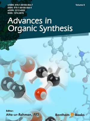 cover image of Advances in Organic Synthesis, Volume 8