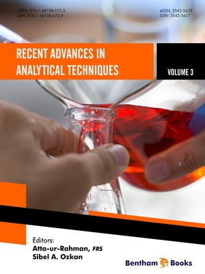 cover image of Recent Advances in Analytical Techniques, Volume 3