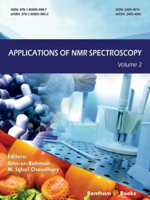 cover image of Applications of NMR Spectroscopy, Volume 2