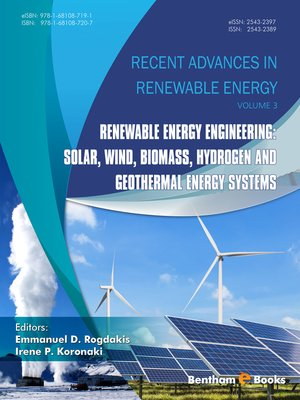 cover image of Recent Advances in Renewable Energy, Volume 3