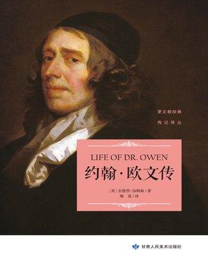 cover image of 约翰·欧文传