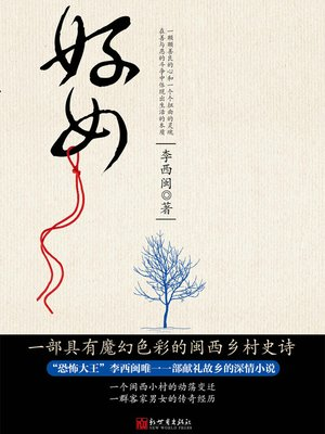 cover image of 李西闽经典小说:好女 Li XiMin mystery novels: Rural Women- BookDNA Series of Chinese Modern Novels (Chinese Edition)