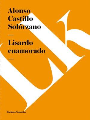 cover image of Lisardo enamorado