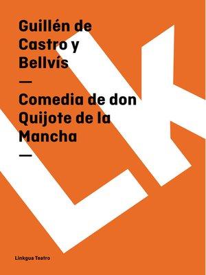 cover image of Comedia de don Quijote de la Mancha