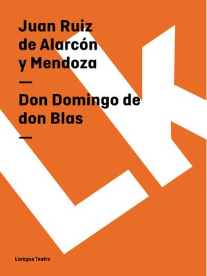 cover image of Don Domingo de don Blas