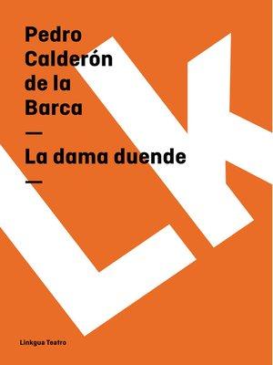 cover image of La dama duende