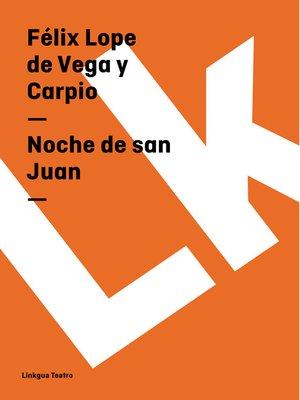 cover image of Noche de san Juan
