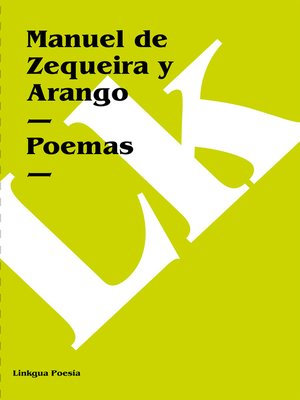 cover image of Poemas