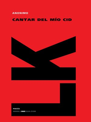 cover image of Cantar del Mío Cid