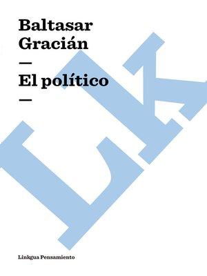 cover image of El político