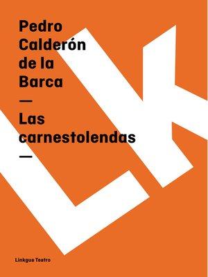 cover image of Las carnestolendas
