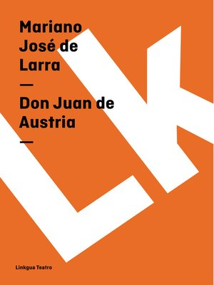 cover image of Don Juan de Austria