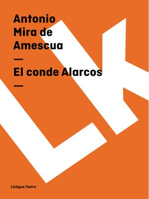 cover image of El conde Alarcos