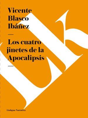cover image of Los cuatro jinetes de la Apocalipsis