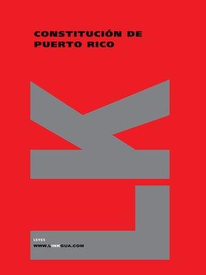 cover image of Constituciones fundacionales de Puerto Rico
