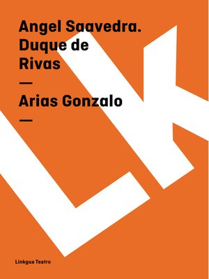 cover image of Arias Gonzalo