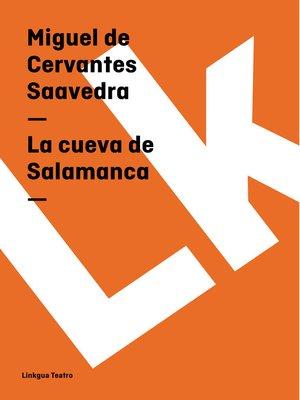 cover image of La cueva de Salamanca