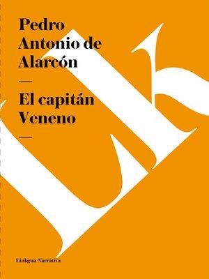 cover image of El capitán Veneno