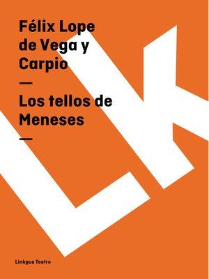 cover image of Los tellos de Meneses