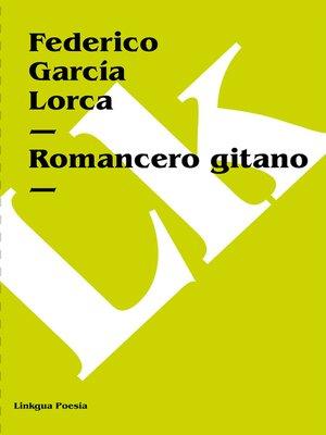 cover image of Romancero gitano
