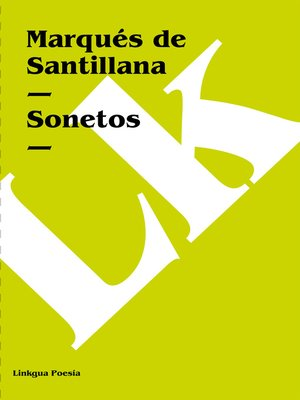 cover image of Sonetos