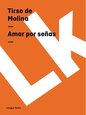 cover image of Amar por señas