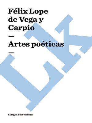 cover image of Artes poéticas