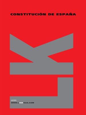 cover image of Constitución de España