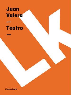 cover image of Teatro
