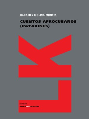 cover image of Cuentos afrocubanos (Patakines)