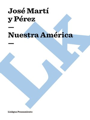cover image of Nuestra América