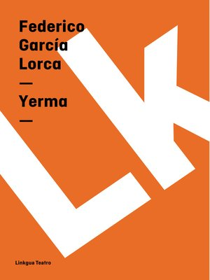cover image of Yerma