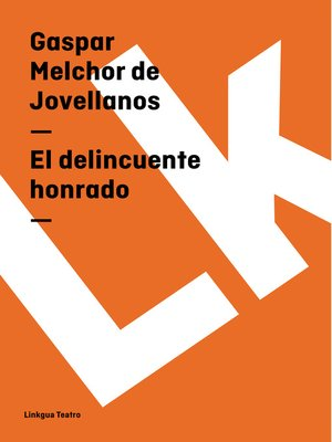 cover image of El delincuente honrado