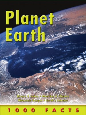 cover image of 1000 Facts Planet Earth