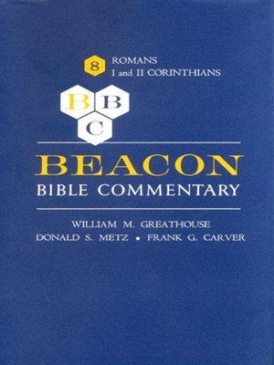 cover image of Beacon Bible Commentary, Volume 8