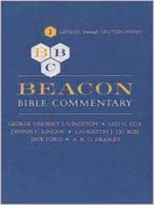 cover image of Beacon Bible Commentary, Volume 1