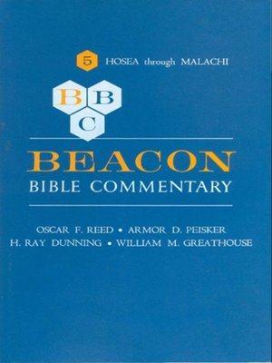 cover image of Beacon Bible Commentary, Volume 5