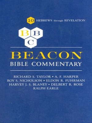 cover image of Beacon Bible Commentary, Volume 10
