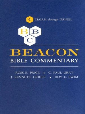 cover image of Beacon Bible Commentary, Volume 4