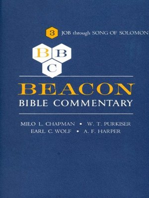 cover image of Beacon Bible Commentary, Volume 3