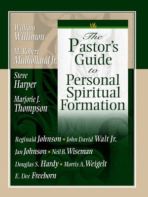 cover image of The Pastor's Guide/Personal Spiritual Formation